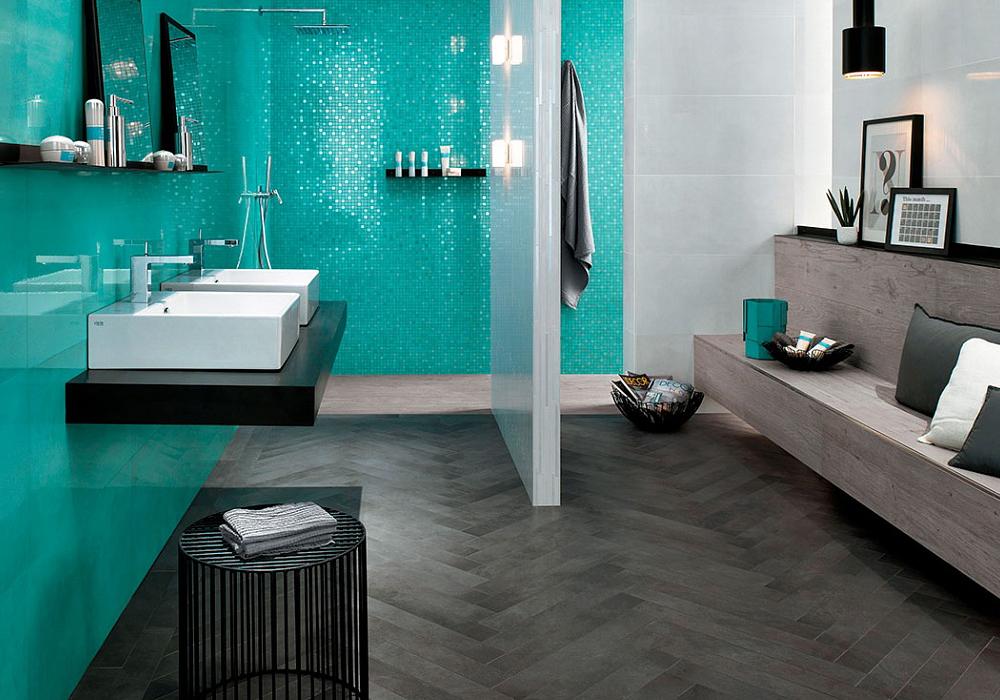 Italian ceramic floor tiles