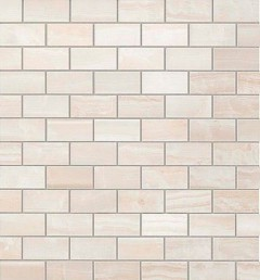 S.O. Pure White Brick Mosaic / С.О. Пьюр Вайт Брик Мозаика - Интернет-магазин плитки от компании MOSAIC, Екатеринбург